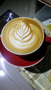 Latte art small